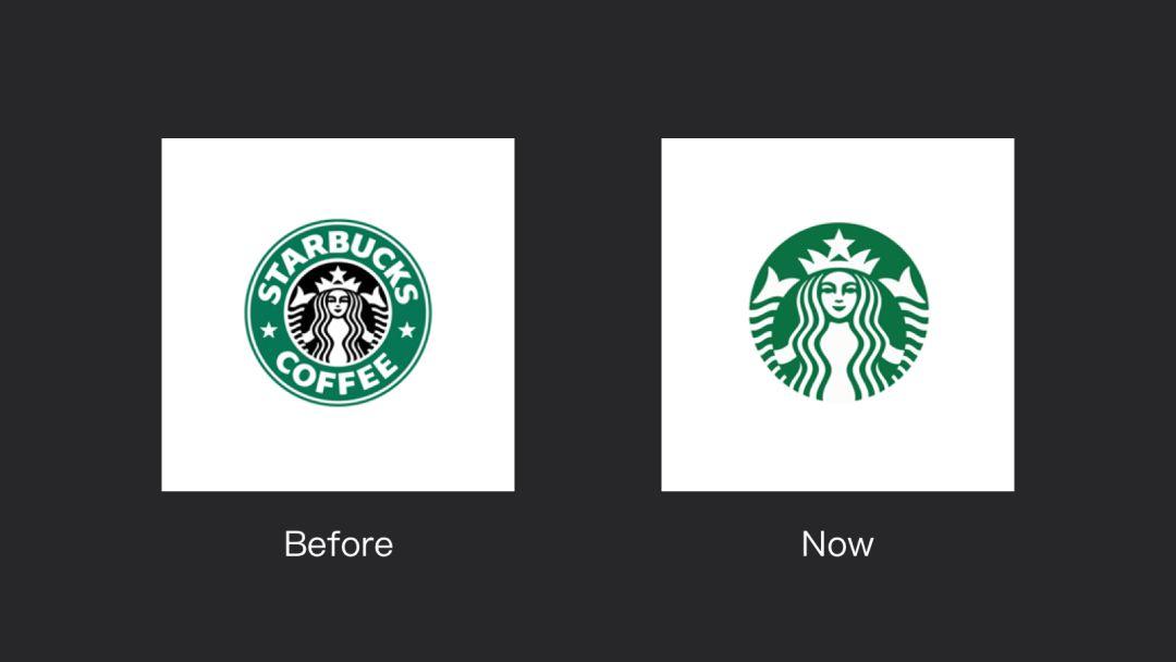 星巴克logo升级