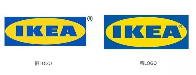 宜家家居品牌logo升级