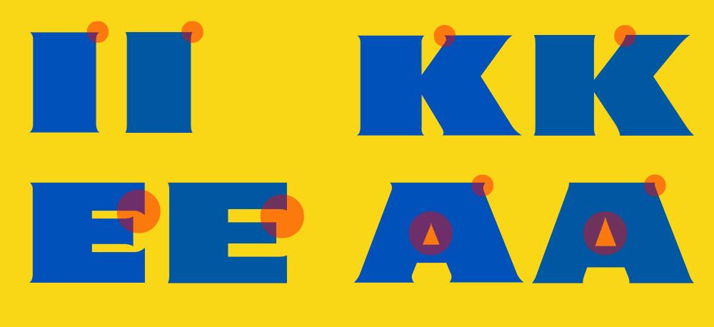 宜家家居品牌logo字体设计