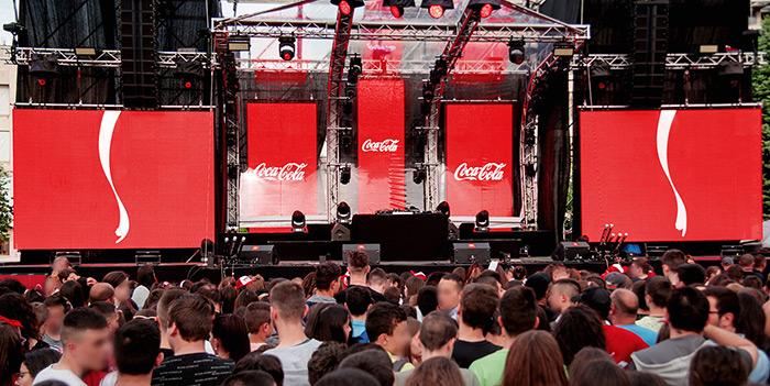 意大利可口可乐音乐节广告