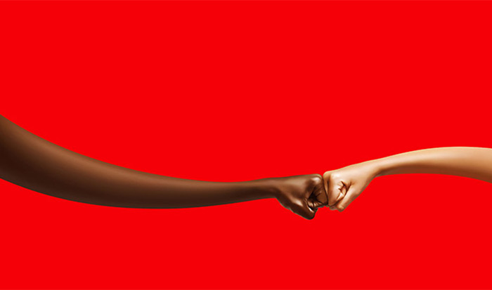 可口可乐真朋友品牌理念设计