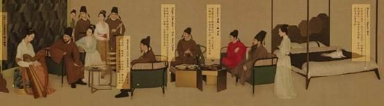 真人还原版《韩熙载夜宴图》