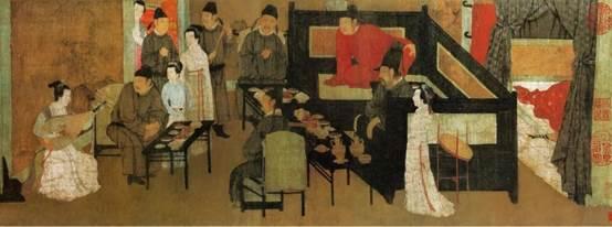 原版《韩熙载夜宴图》