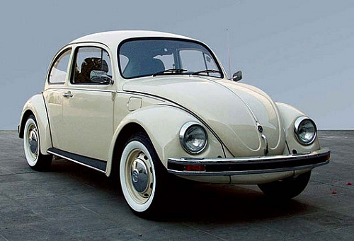 甲壳虫成为过世界上销量最多的车型