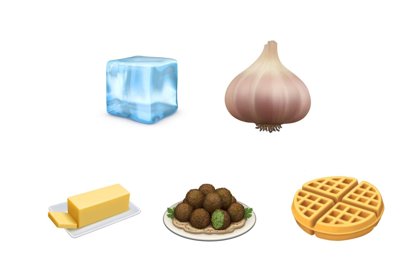 苹果公司大蒜表情符号