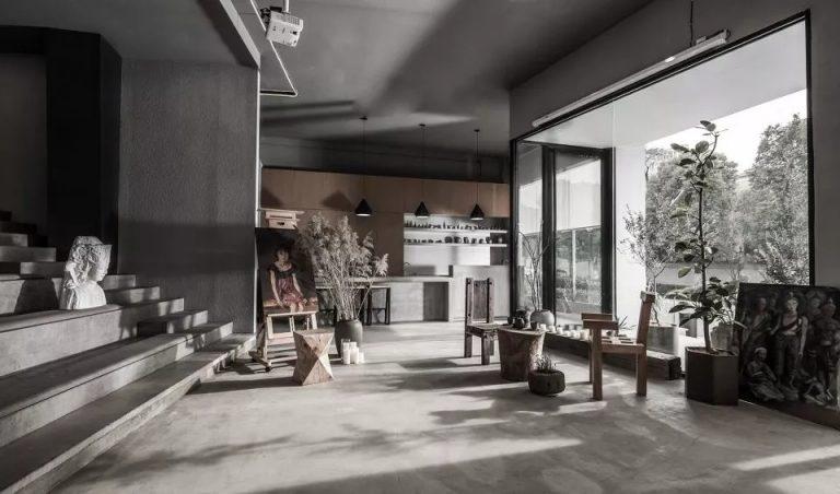 杭州时上建筑空间设计事务所大象艺术馆设计