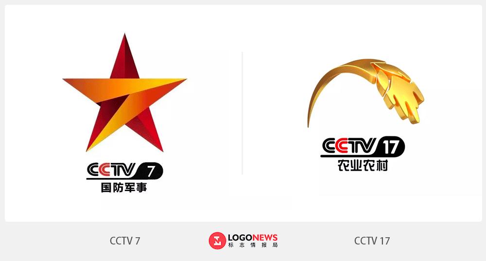央视国防军事频道logo_央视农业农村频道logo