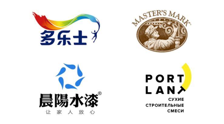 油漆logo设计