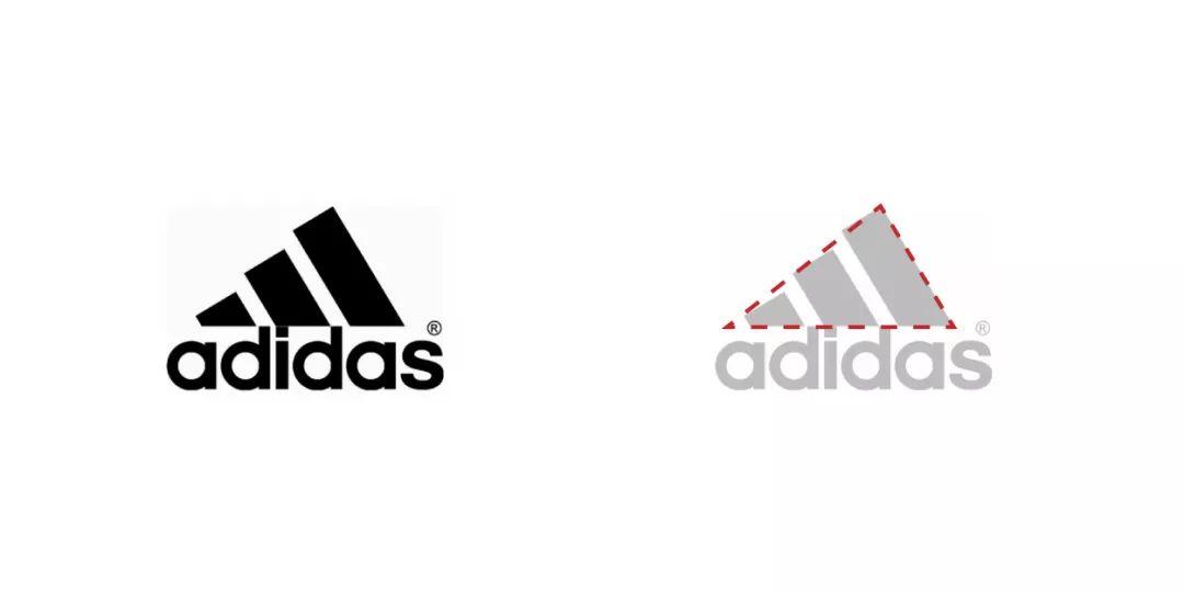 阿迪达斯logo设计