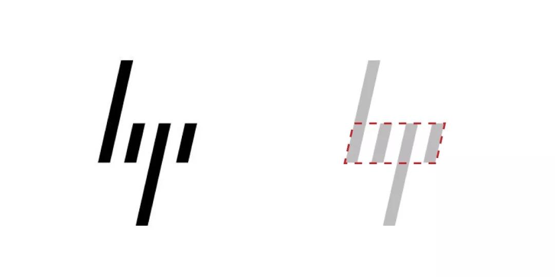 惠普logo设计