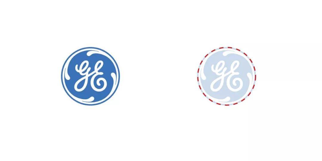 GE通用电气logo设计