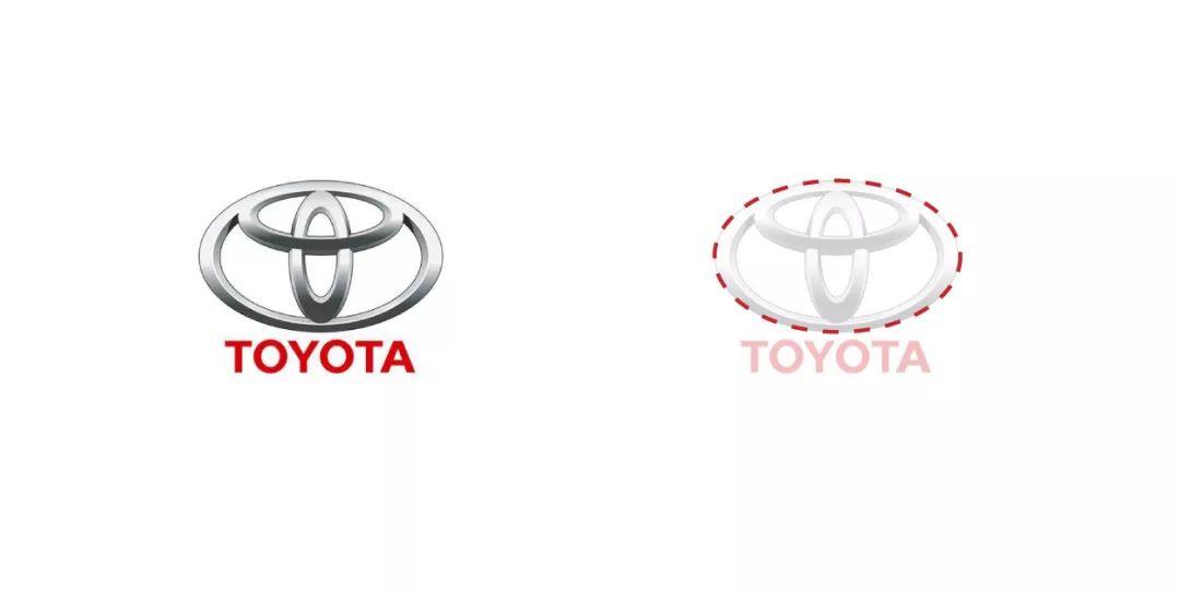 丰田logo设计