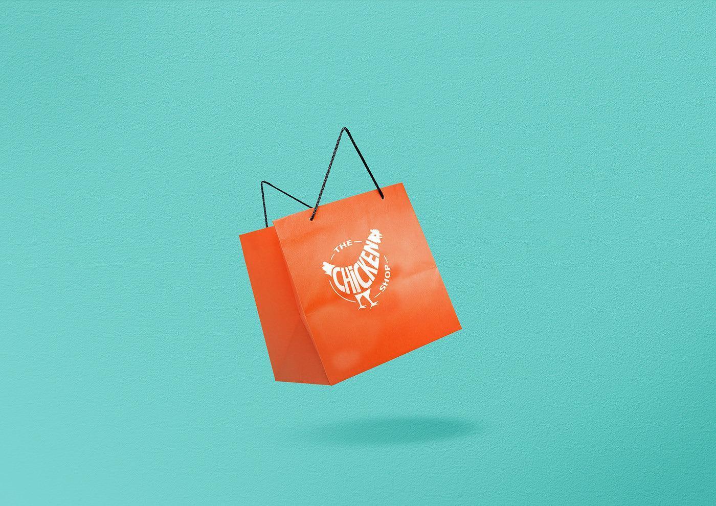 专业logo设计_品牌鸡logo包装袋