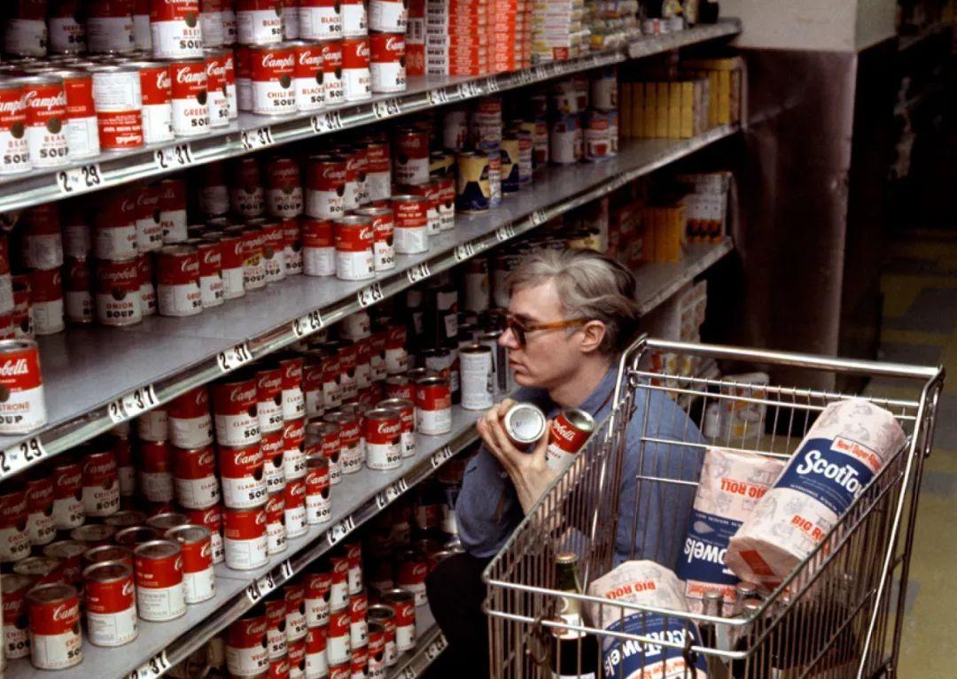 启创专业品牌设计_安迪·沃霍尔购买金宝汤罐头