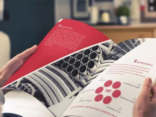 企业宣传画册设计需要注意的问题