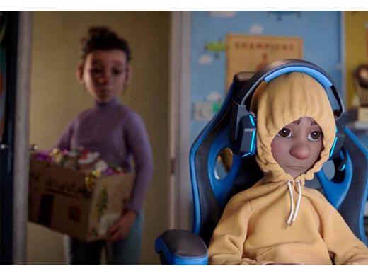 英国麦当劳圣诞暖心大片:做回内心的小孩